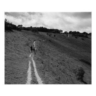 And we walked away.. photo print