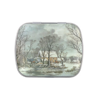 and Winter in the Country Jelly Belly Tin