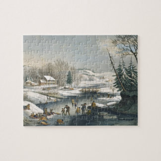and Winter Morning Jigsaw Puzzle