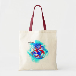 """AND wolf"" by Nick Tote Bag"