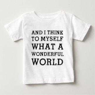 And Wonderful World Infant T-shirt