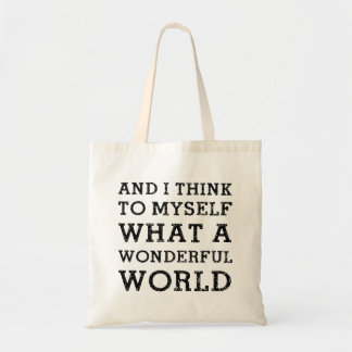 And Wonderful World Tote Bag