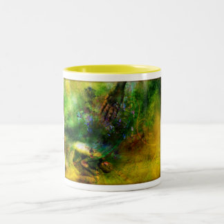 ...and You healed me. Two-Tone Coffee Mug