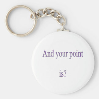 And your point is keychain