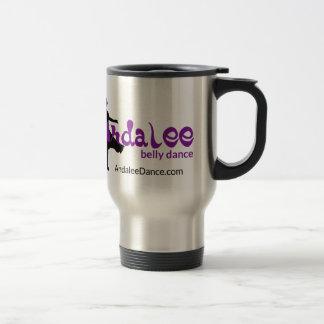 Andalee Belly Dance Flair Travel Mug