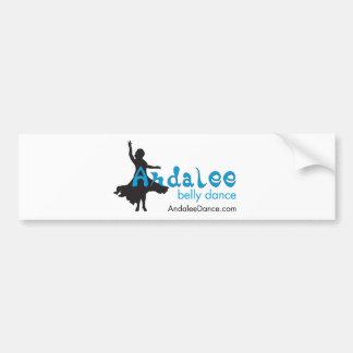 Andalee Belly Dance Merchandise Bumper Sticker