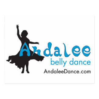 Andalee Belly Dance Merchandise Postcard