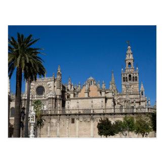 Andalucía - catedral de la postal de Sevilla