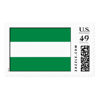Andalucia Flag Stamp