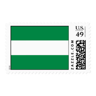 Andalucia Flag Postage Stamp