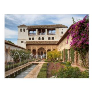 Andalucía - Generalife de la postal de Alhambra