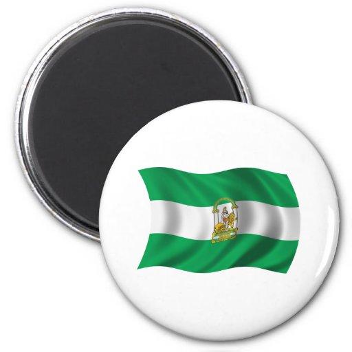 Andalucía Imán Redondo 5 Cm