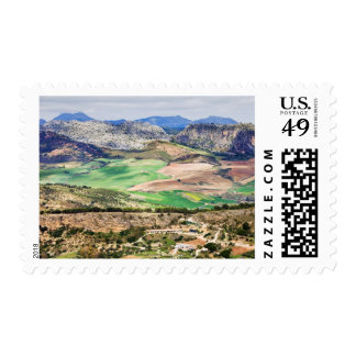Andalucia Landscape in Spain Postage