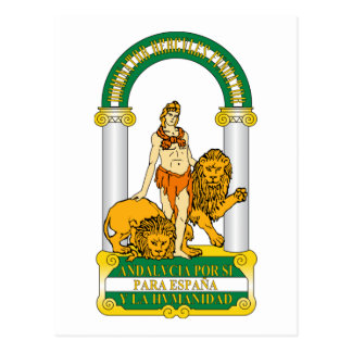 Andalucia (Spain) Coat of Arms Post Cards
