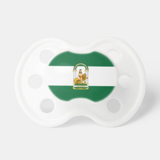 Andalucia (Spain) Flag Baby Pacifiers