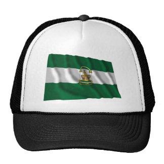 Andalucía waving flag trucker hat