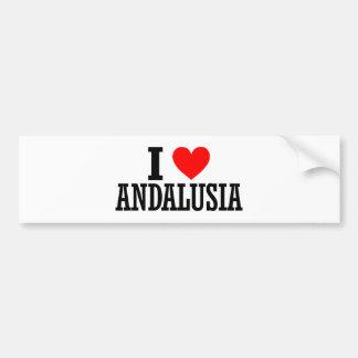 Andalusia, Alabama City Design Bumper Sticker
