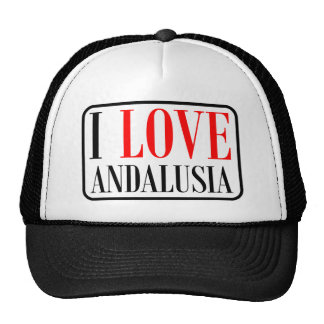 Andalusia, Alabama City Design Trucker Hat