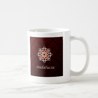 Andalusia art of tile and Moroccan ceramics in Coffee Mug