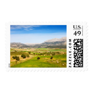 Andalusia Countryside in Spain Stamps