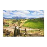 Andalusia Countryside Landscape in Spain Canvas Print