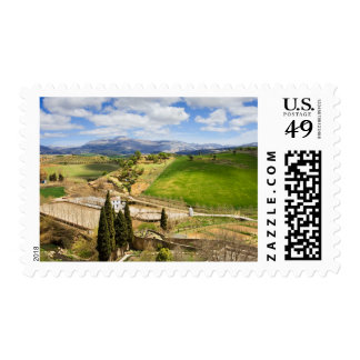 Andalusia Countryside Landscape in Spain Stamps