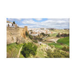 Andalusia Countryside Stretched Canvas Prints