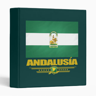 Andalusia Flag Binder