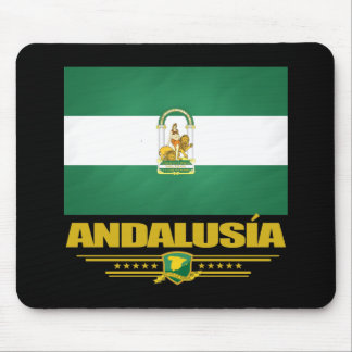 Andalusia Flag Mouse Pad