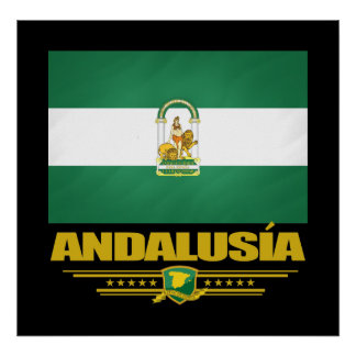 Andalusia Flag Poster