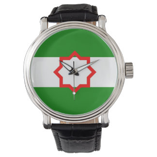 andalusia flag spain province wrist watches