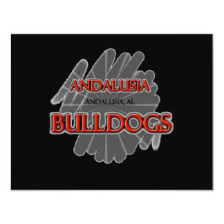 Andalusia High School Bulldogs - Andalusia, AL Card