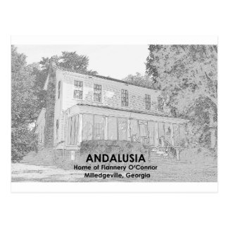 Andalusia - Home of Flannery O Connor Postcard