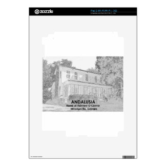 Andalusia - Home of Flannery O Connor Decals For iPad 2