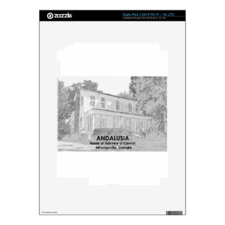 Andalusia - Home of Flannery O Connor iPad 3 Decals