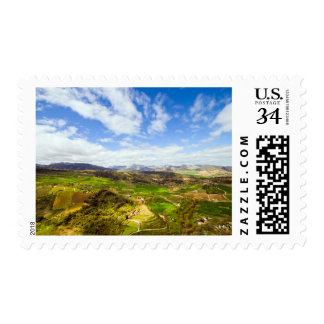 Andalusia Landscape in Spain Stamp