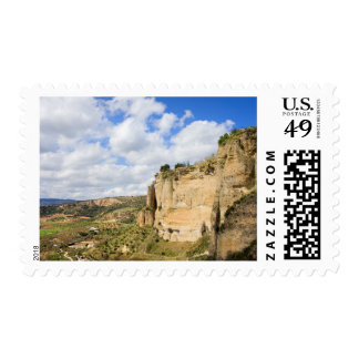Andalusia Landscape in Spain Postage