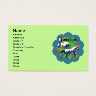 ANDALUSIAN 2 BUSINESS CARD