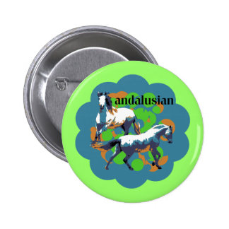 ANDALUSIAN 2 PINBACK BUTTONS