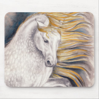 Andalusian Beauty Horse Mouse Pad