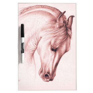 Andalusian Beauty In Sepia Dry Erase Board