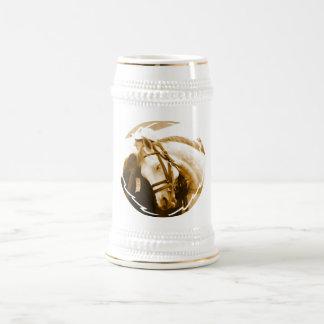 Andalusian Beer Stein Coffee Mug