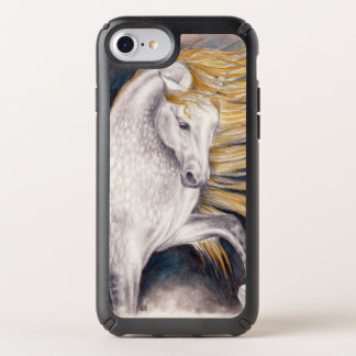Andalusian Dapple gray horse Speck iPhone Case