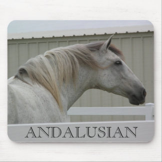ANDALUSIAN HEAD SHOT MOUSEPAD