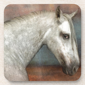 AnDALUSiAN HOrSE Beverage Coaster