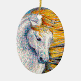 Andalusian Horse Ceramic Ornament