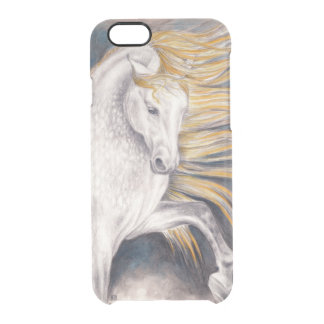 Andalusian Horse Clear iPhone 6/6S Case