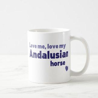 Andalusian horse coffee mug
