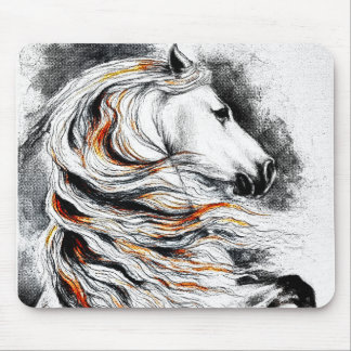 Andalusian Horse Comic Mouse Pad