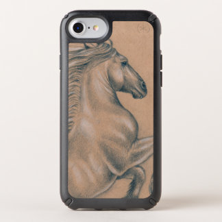 Andalusian Horse Drawing Speck iPhone Case